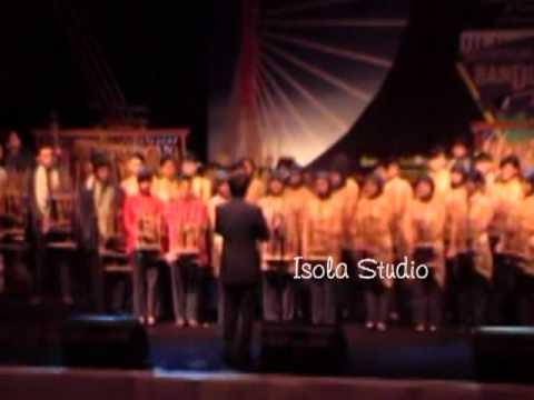 IsolaStudio   Angklung Orchestra, Medley Sunda