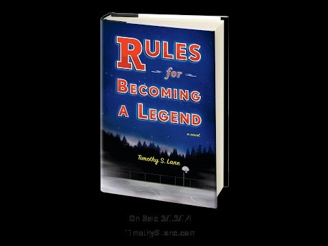 RULES FOR BECOMING A LEGEND: A Novel - Book Trailer