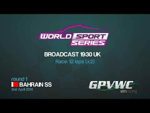 GPVWC 2014 - World Sports Series R01 - Bahrain Sports Series