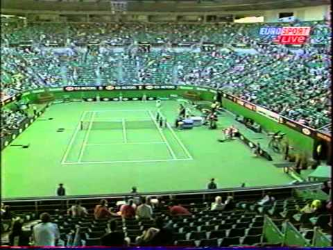 ATP Australian Open 2003 Mantilla vs Grosjean 4th part1