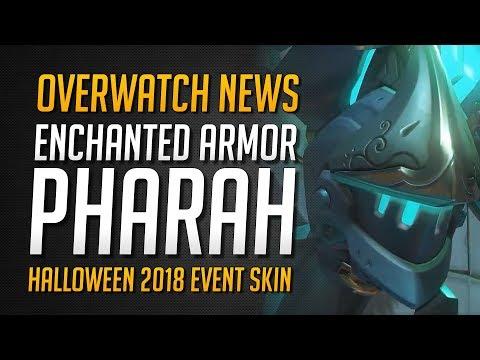 ENCHANTED ARMOR PHARAH SKIN | Halloween 2018 Event Skin - Legendary Pharah Skin★ Overwatch Deutsch