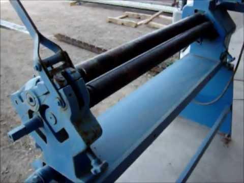 Role láminas con Roladora Motorizada de 3 rodillos