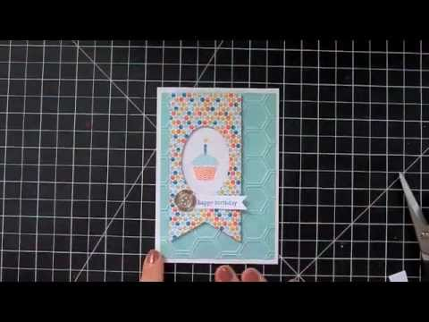 Start-to-Finish Sunday #18 - Sale-a-Bration Birthday Notecard - featuring Stampin' Up!