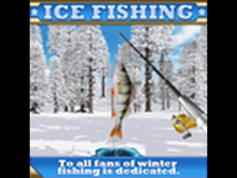 Ice fishing action fish sports game video game youtube for Ice fishing youtube