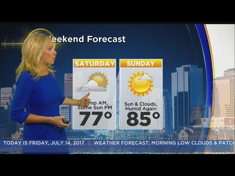 WBZ Morning Forecast For July 14
