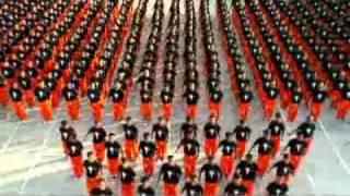 1.200 tù nhân nhảy nhạc Michael Jackson (TETPRO)