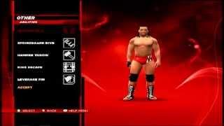 WWE 2K14 How To Make Bo Dallas