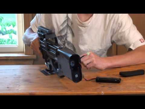 King Arms FN P90 Airsoft Gun Review