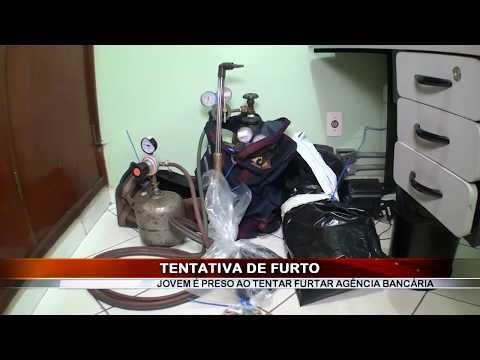 05/02/2018 - Jovem de 24 anos é preso por tentativa de furto a agência bancária em Barretos