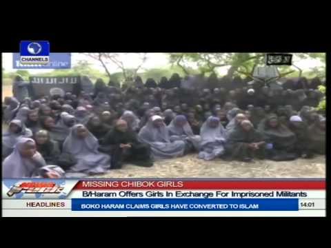 Missing Chibok Girls: Boko Haram Posts Purported Video Of Missing Girls