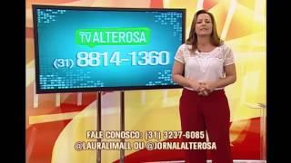 Assista ao Jornal da Alterosa 1� Edi��o - 18/12/2014