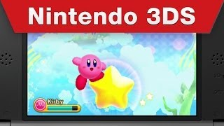 Nintendo 3DS - Kirby: Triple Deluxe Trailer