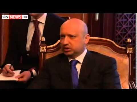 Biden In Ukraine In US Show Of Support