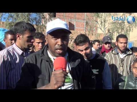 إضراب في سوق ألنيف بسبب غلاء الصنك