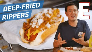 How Deep-Fried Hot Dogs Became a Miami Favorite — Dining on a Dime