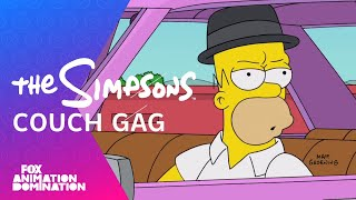 Simpsons: Breaking Bad Couch Gag