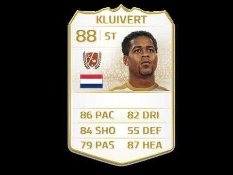 FIFA 14 NEXT GEN LEGEND KLUIVERT 88 Player Review & In Game Stats Ultimate Team Xbox One