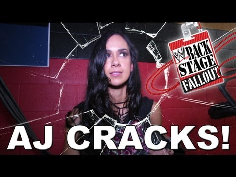 AJ Cracks! - Backstage Fallout - September 13, 2013,