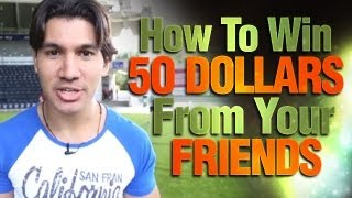 Learn Card Tricks: How To Win 50 Dollars From Your Friends