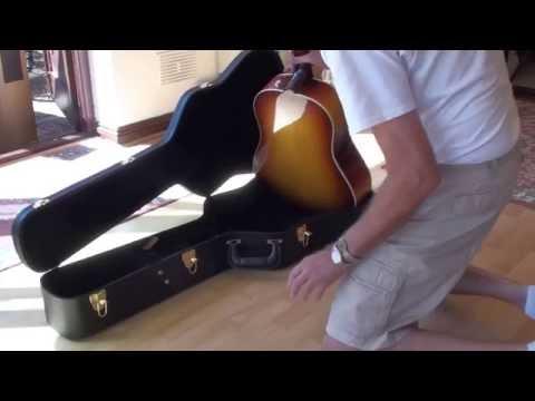 2016 Gibson J45 Maple Burst Custom Unboxing Phil