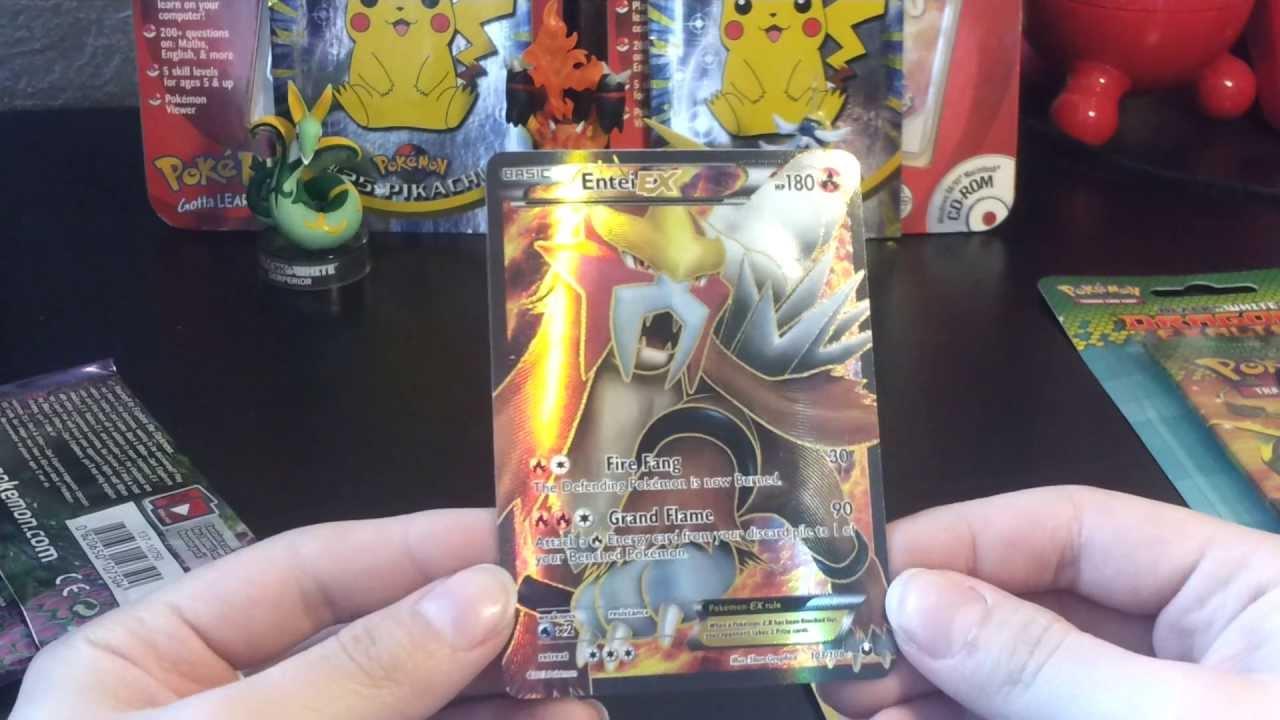 Pokemon Booster Opening Hele Vette Kaart Eruit Ex Pull