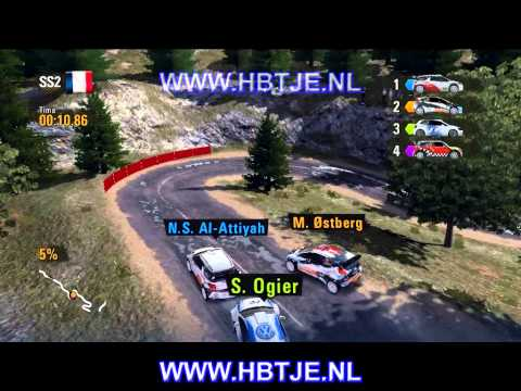 WRC Powerslide career part 14 (easy)