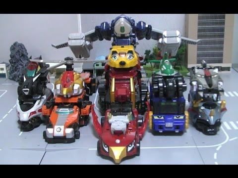 đồ chơi Siêu Nhân Cơ Động  Power Rangers Go Onger G12 Toys 파워레인저 엔진포스 G12 자동차 변신 장난감