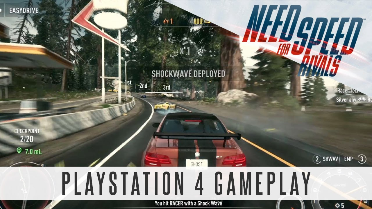 need for speed rivals playstation 4 gameplay ps4 youtube. Black Bedroom Furniture Sets. Home Design Ideas