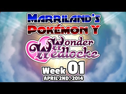 Pokémon Y Wonderwedlocke Wednesday, Week 01! (Livestream Archive)