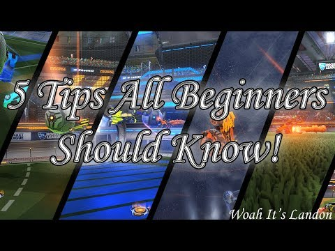 5 Rocket League Tips ALL Beginners SHOULD KNOW :)