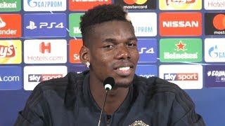 Paul Pogba Full Pre-Match Press Conference - Juventus v Manchester United - Champions League