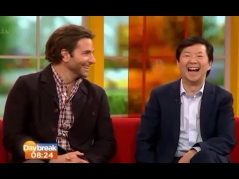 Bradley Cooper and Ken Jeong on Daybreak 2013 (Funny, Full)