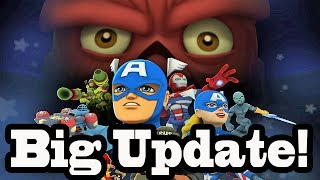 Marvel Super Hero Squad Online Update About Big Update- HD