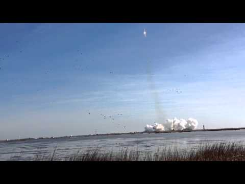 Antares launch to the International Space Station: Jan. 9, 2014, 13:07 hours.