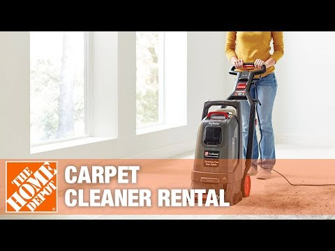 The Home Depot Tool Rental Center Carpet Cleaners Youtube