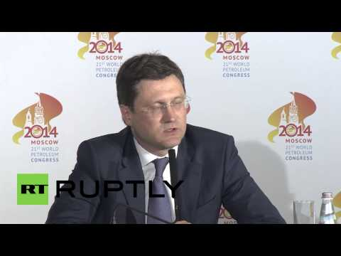 Russia: Ukraine gas contracts are being respected - Energy Minister Novak