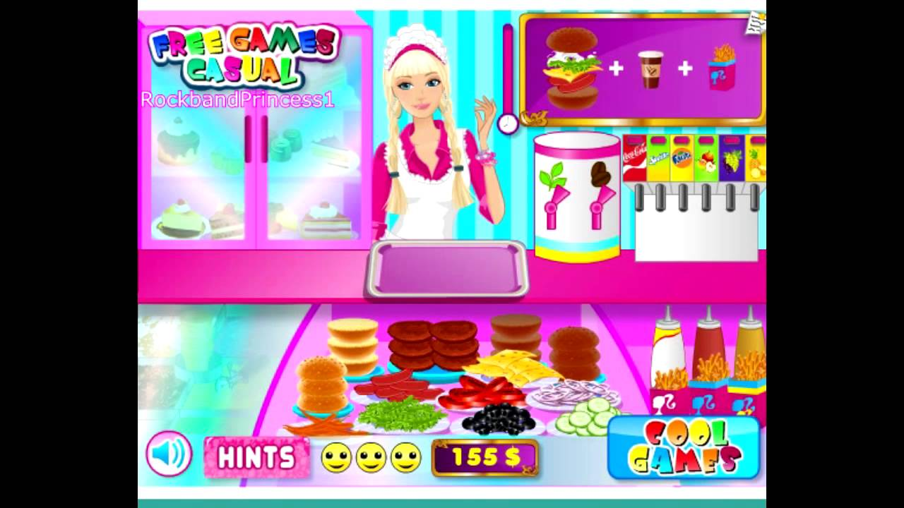 free barbie games online to play
