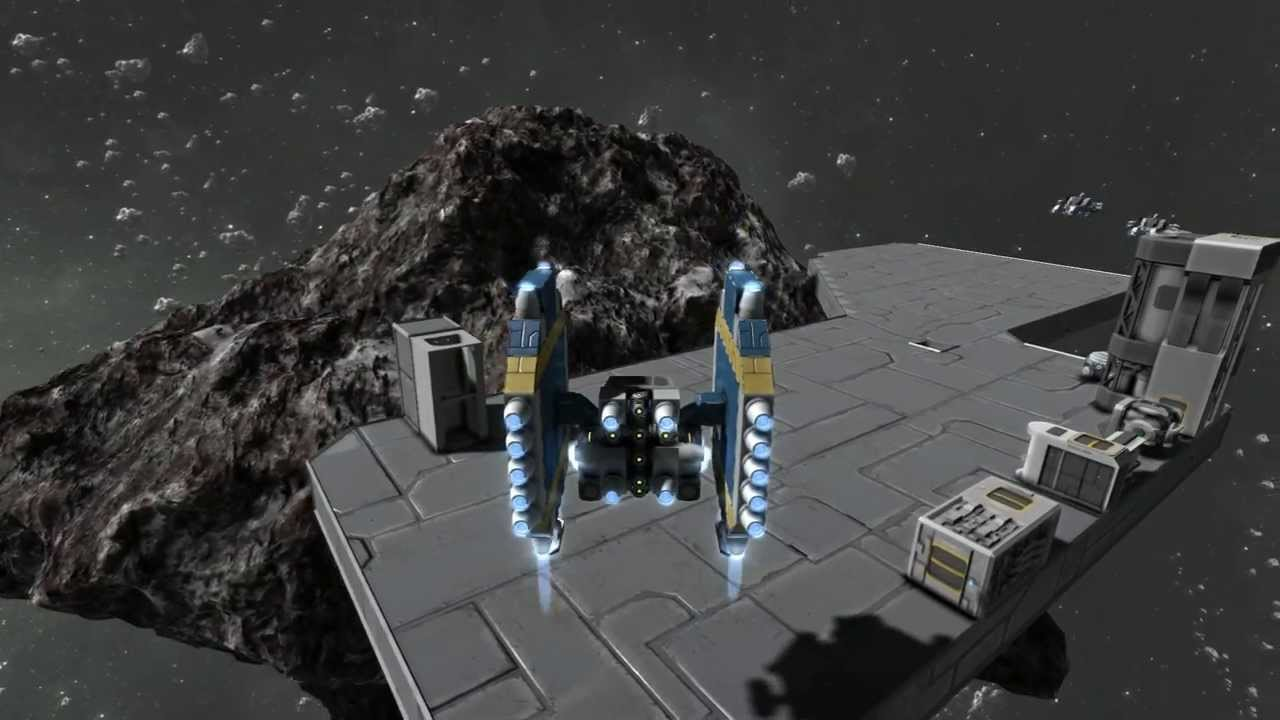 Space engineers small fighter ship page 2 pics about space - Small reactor space engineers gallery ...
