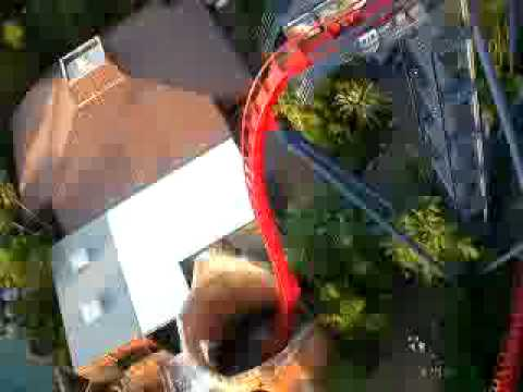 Sheikra Roller Coaster Accident Onboard With Michael