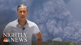 New Fissure Leads To More Lava And Toxic Gas In Hawaii | NBC Nightly News