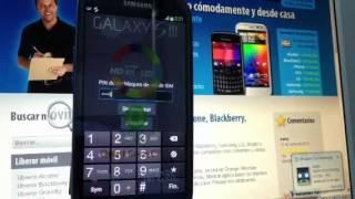 Liberar Samsung Galaxy S3 I9300 Por Código