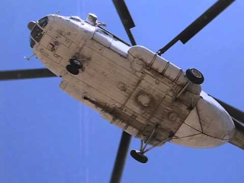 Russian Helicopter Mi8 MTV Afghansitan