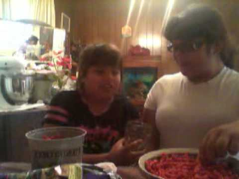takis n hot cheetos challange cece n heather epic fail