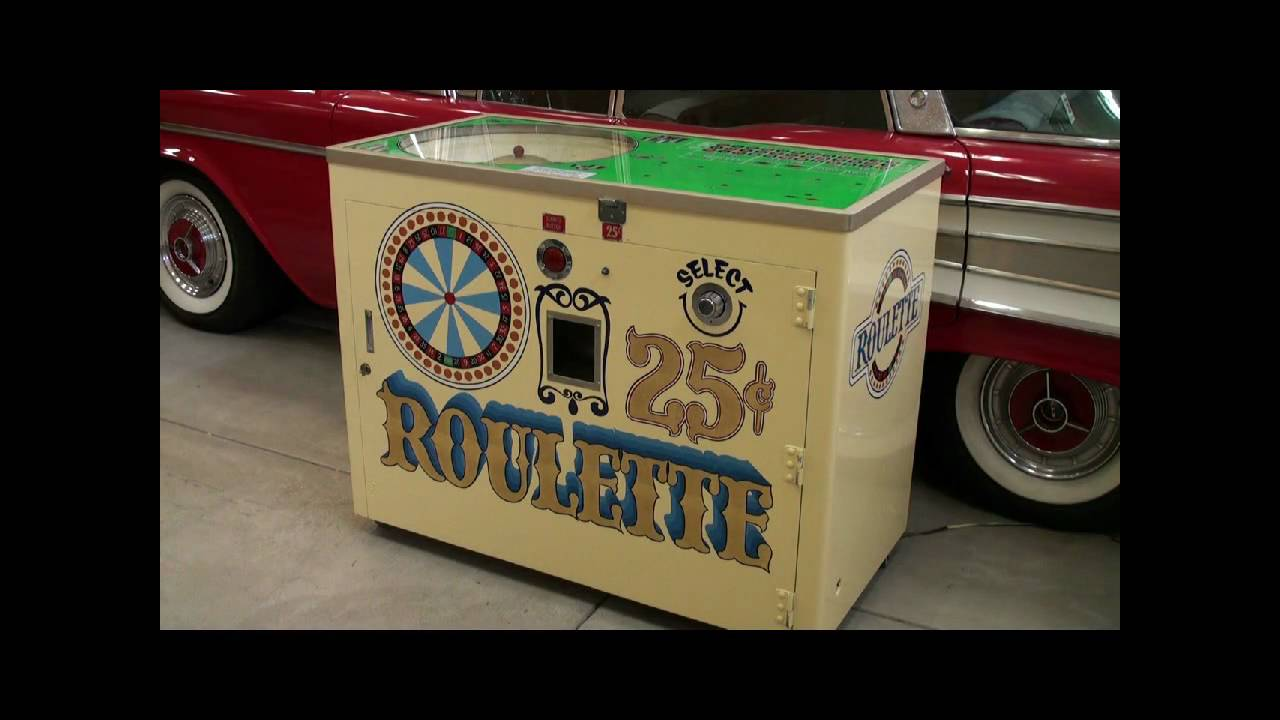 Roulette machine category