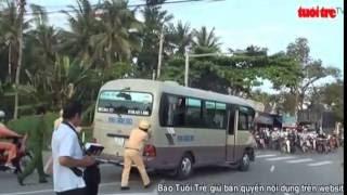ra vụ tai nạn giữa xe khách Thảo Châu