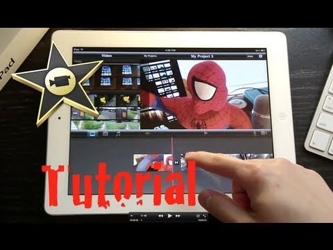 iMovie Tutorial for iPad 2 App and How Tos