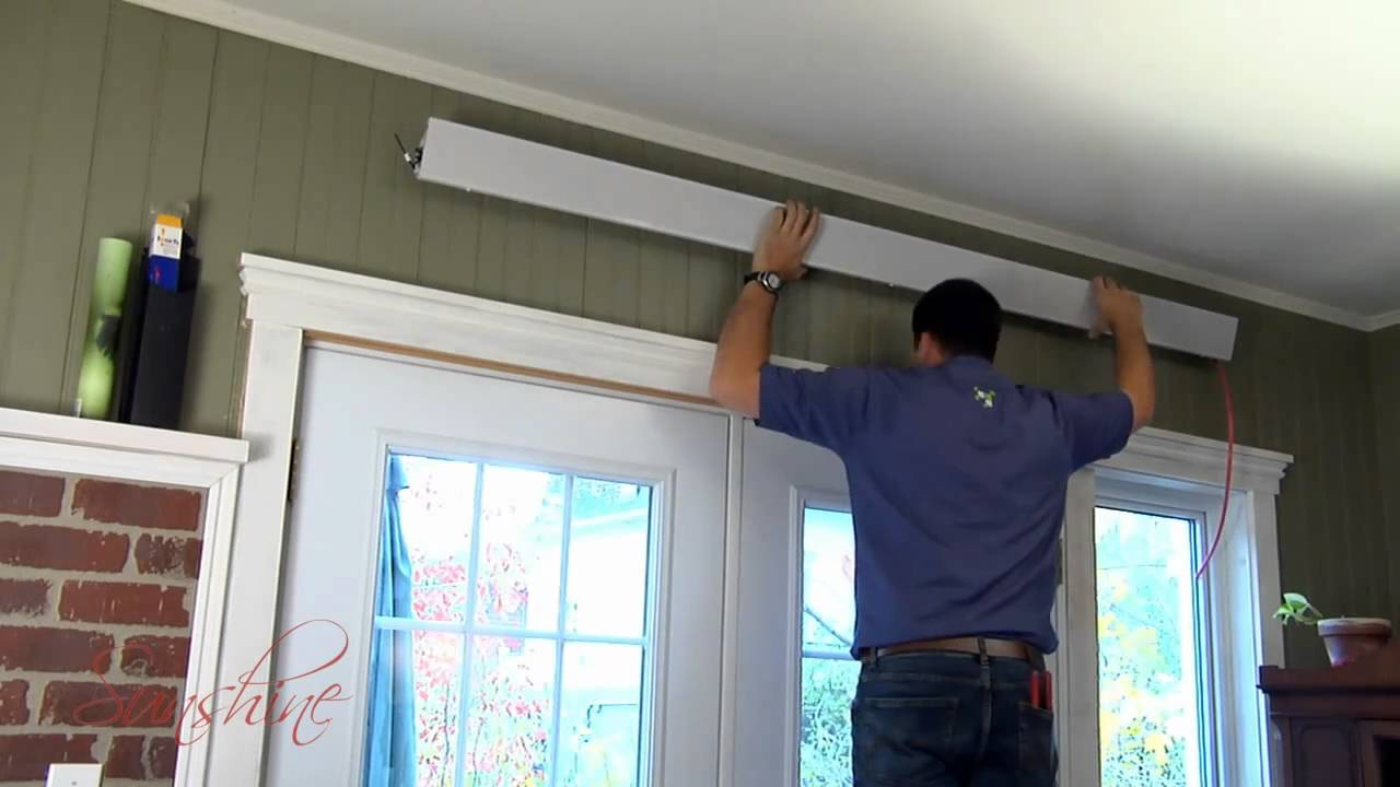 Chauffage radiant sunshine youtube - Chauffage electrique plafond ...