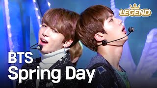 BTS - Spring Day   방탄소년단 - 봄날 [Music Bank HOT Stage / 2017.02.24]