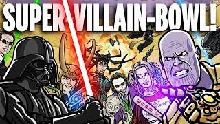 SUPER-VILLAIN-BOWL! - TOON SANDWICH