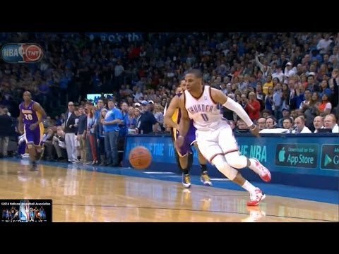 Russell Westbrook Offense Highlights 2013/2014